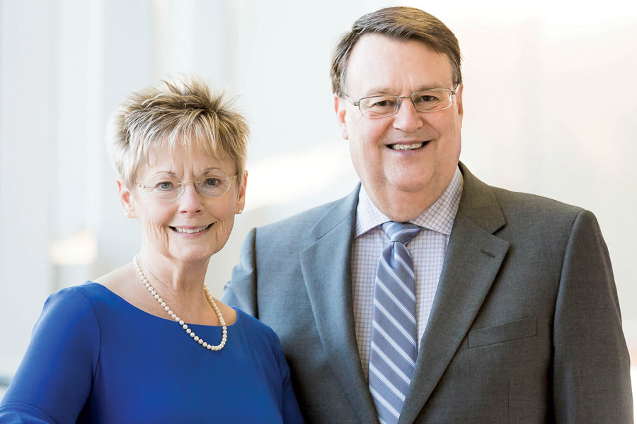 The Mary S. and William T. Southards Scholarship will benefit first-generation college students.