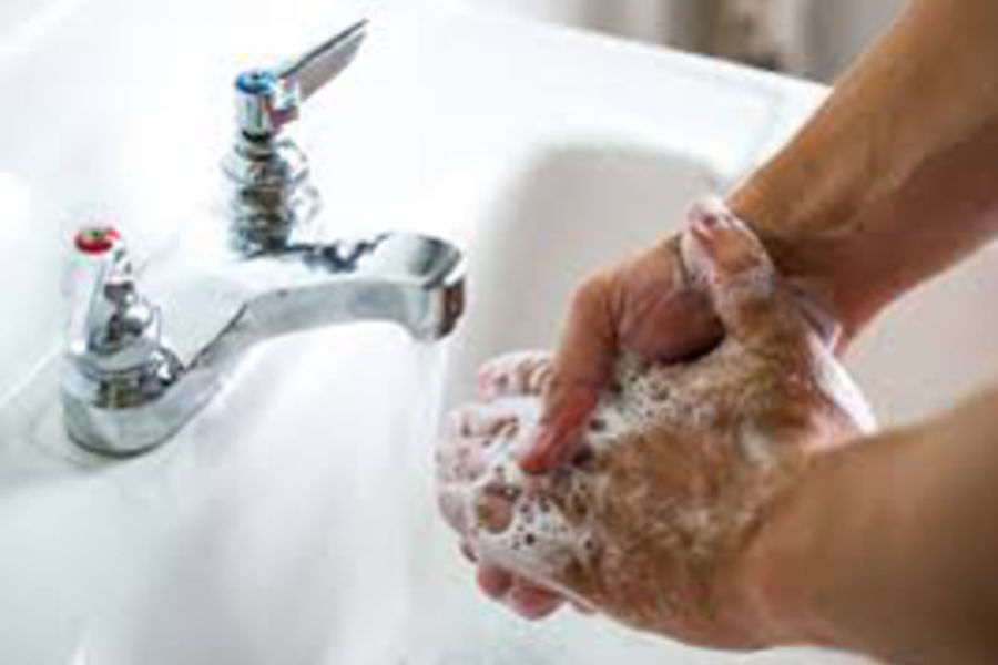 Three Kent State University faculty members found that public university employees who reported that they washed their hands or used hand sanitizer on a regular basis had a 45 percent reduced odds of reporting illness.