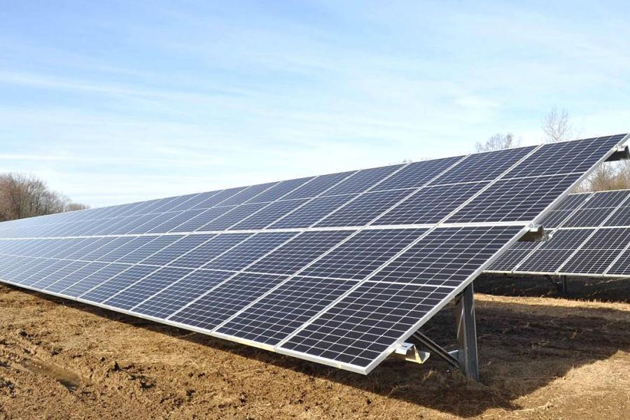 Solar Panels at Kent State Salem