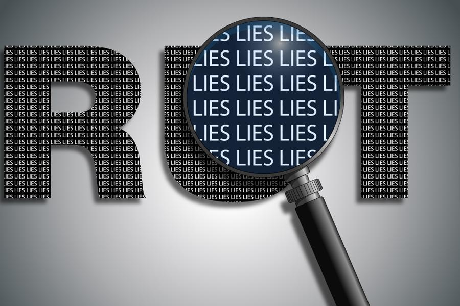 Truth and Lies Graphic
