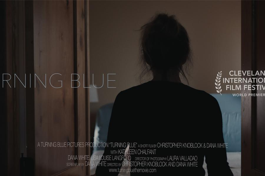 poster for Turning Blue film
