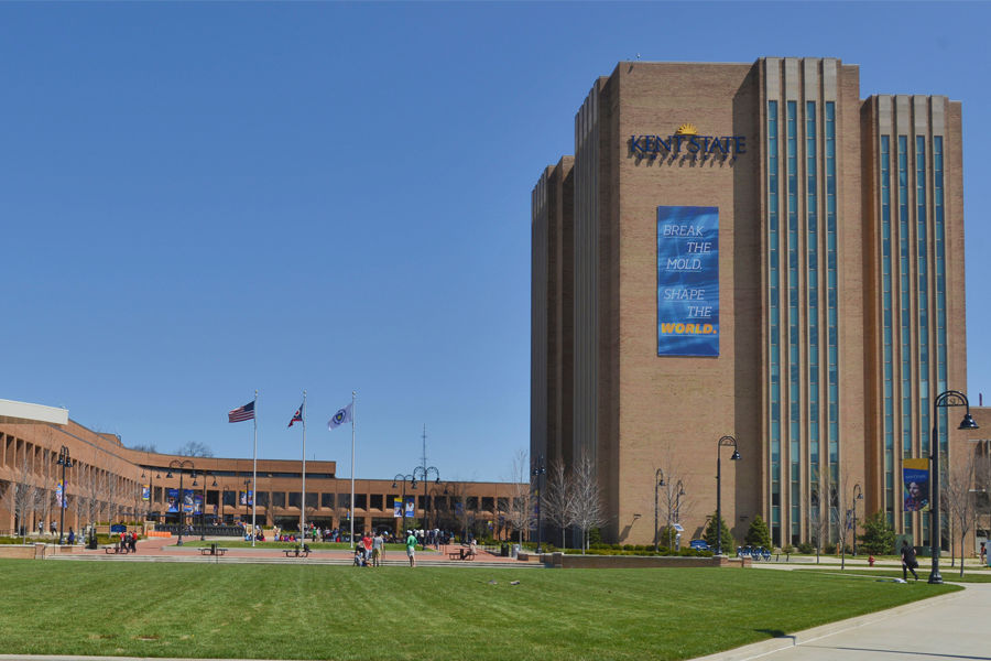 The University Library houses Kent State
