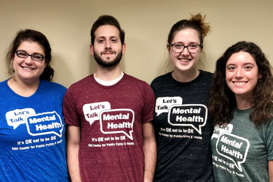 Students trained in Mental Health First Aid