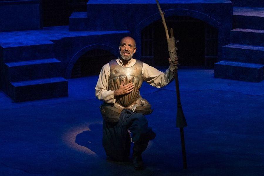 Fabio Polanco as Don Quixote in Man of La Mancha