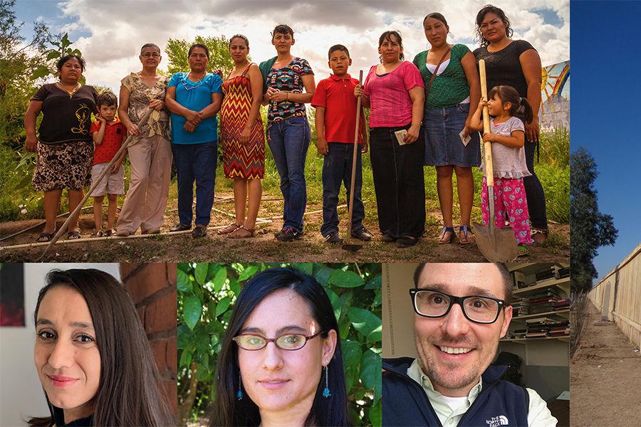 John-Michael Warner, Mary Jenea Sanchez and Gabriela Muñoz