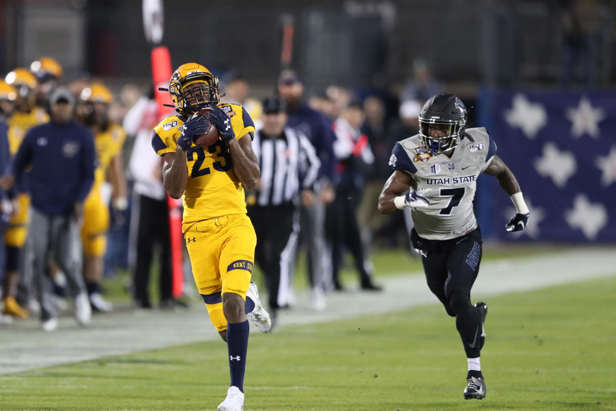 Kent State completed its first ever bowl win with a victory of Utah State