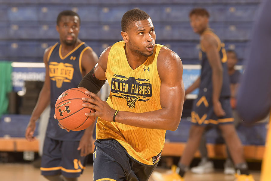 Junior Jonathan Nwankwo's journey has taken many twists and turns to join the men's basketball team.
