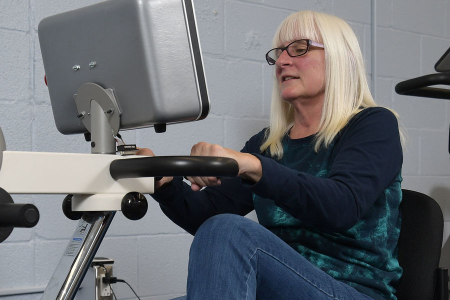 Kent State researchers are awarded a patent for the next generation of the therapy cycle known as the SMART Cycle, for Speed Manipulated Adaptive Rehabilitation Therapy.