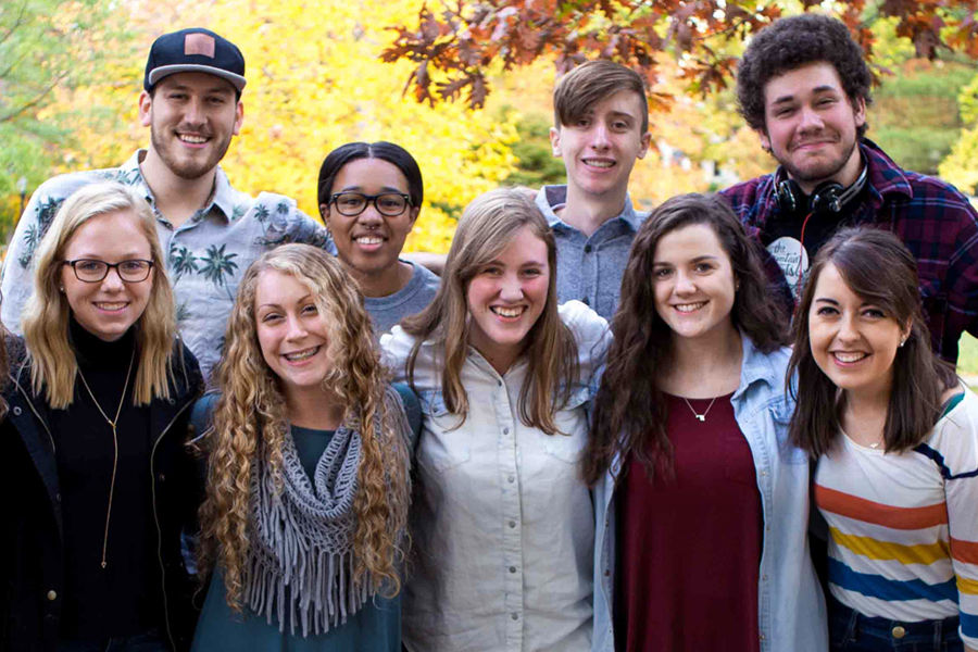 Burr Fall 2016 Staff