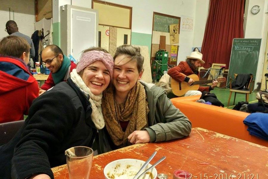 Kent State senior Erin Shattuck (left) travels to the Netherlands where she took classes in sustainable development.
