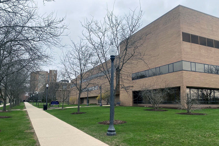 Henderson Hall on an early spring day