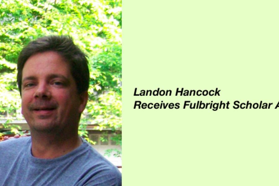 Landon Hancock Fulbright Award image
