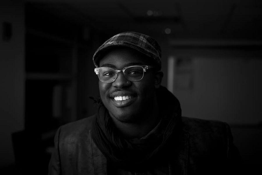 Photo of Jowan M. Cole, new marketing intern