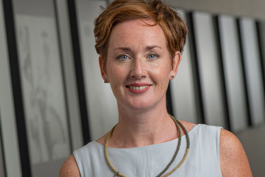 Louise Valentine, Ph.D., Director of the Fashion School