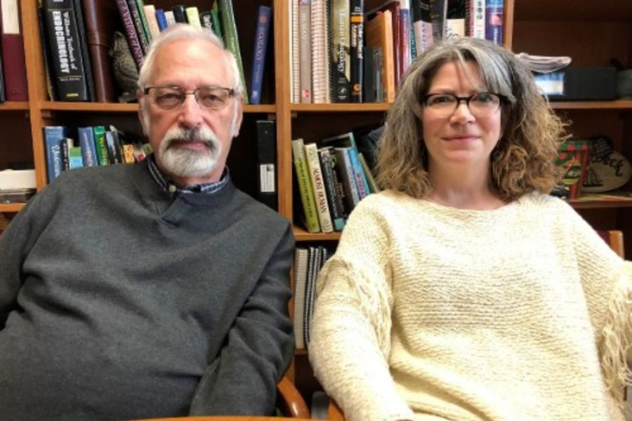 Professors Lovejoy and Raghanti