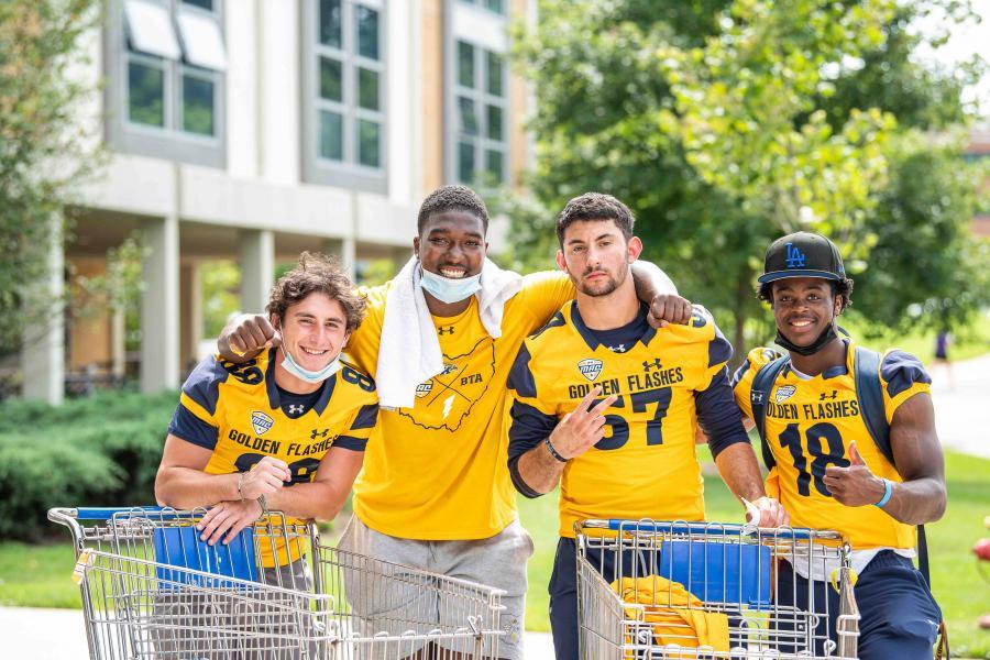 KSU student athletes move in to campus