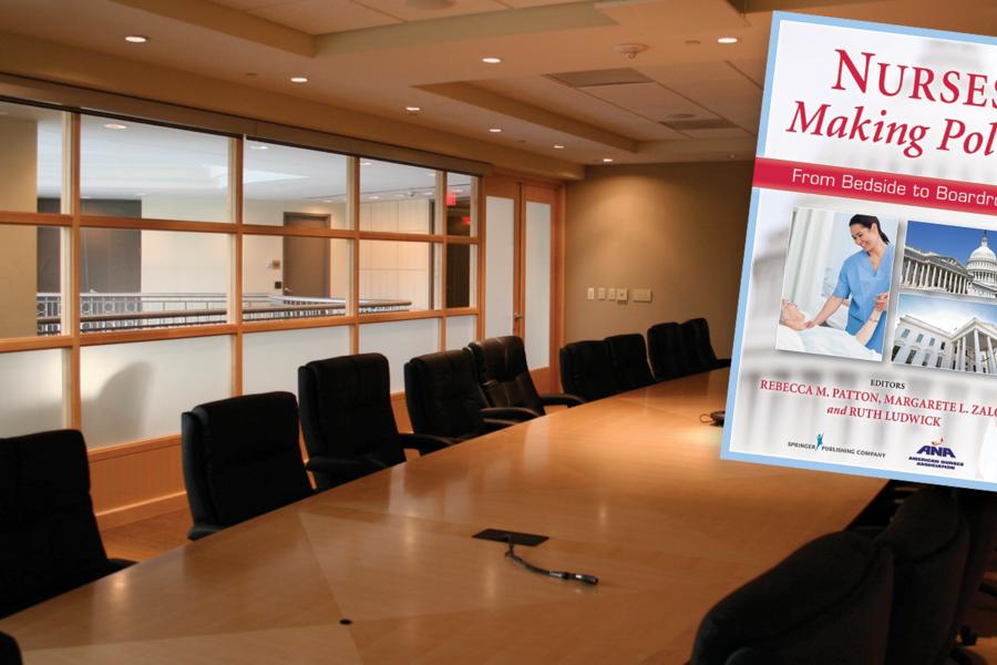Nurses Making Policy - Healthcare policy book written by KSU Alumnae