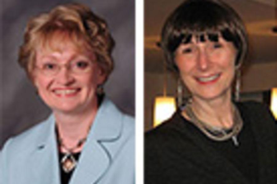 Carol Sedlak and Cynthia Roller
