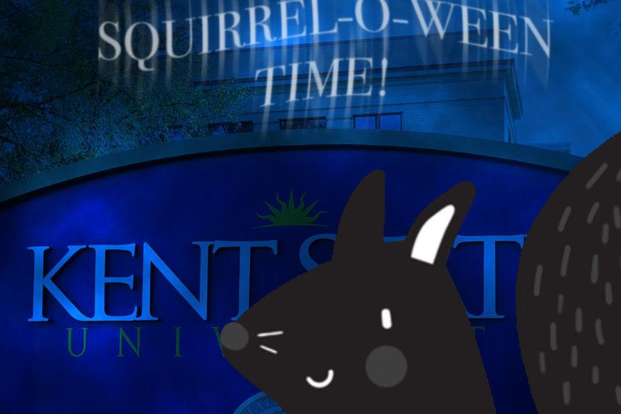 Squirrel-O-Ween Start Screen