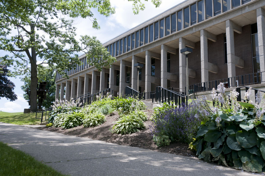 image of Taylor Hall - the building that houses the School of Communication Studies
