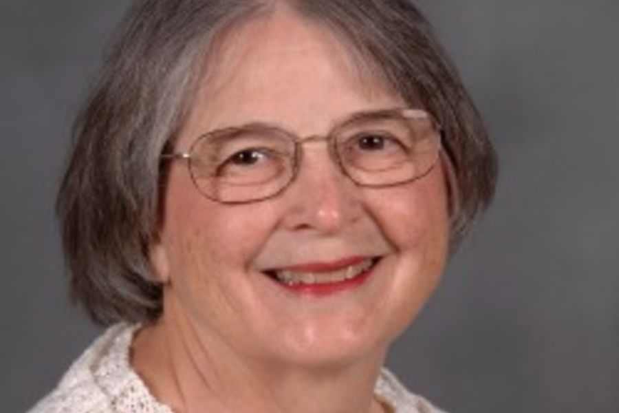 Jean Druesedow, 2014 Distinguished Honors Faculty Award Recipient
