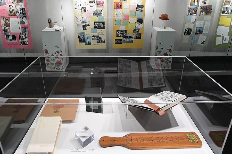 """""""Sandy's Scrapbook,"""" a new exhibition at Kent State University's May 4 Visitors Center, pays tribute to the life of Sandy Scheuer, one of four students killed by Ohio National Guardsmen on May 4, 1970."""