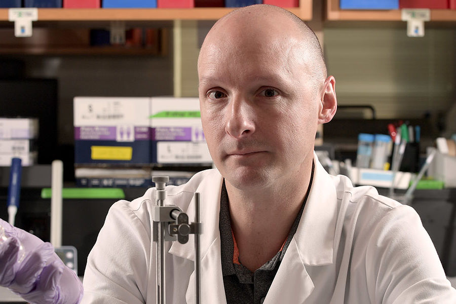 John D. Johnson, associate professor of biological sciences, received a three-year, $450,000 grant for a study that could provide a better understanding of how we create deeply-ingrained fear memories — and how to stop them.