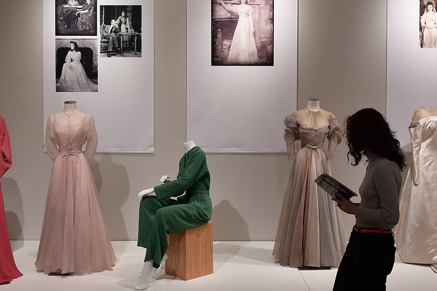 "The exhibition ""Katharine Hepburn: Dressed for Stage and Screen"" is currently on display at the Kent State University Museum."