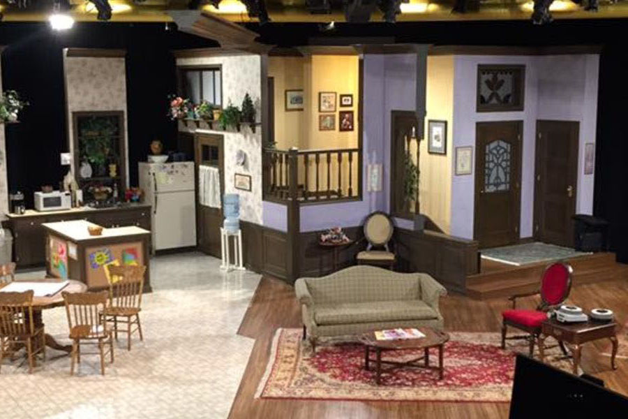Kent State University School of Theatre and Dance Professor Tamara L. Honesty served as scenic designer for the stage production of Family Ties.