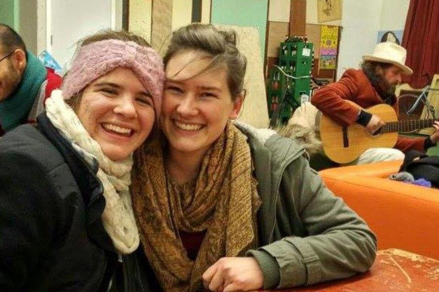 Kent State University senior Erin Shattuck (left) traveled to the Netherlands where she took classes in sustainable development.
