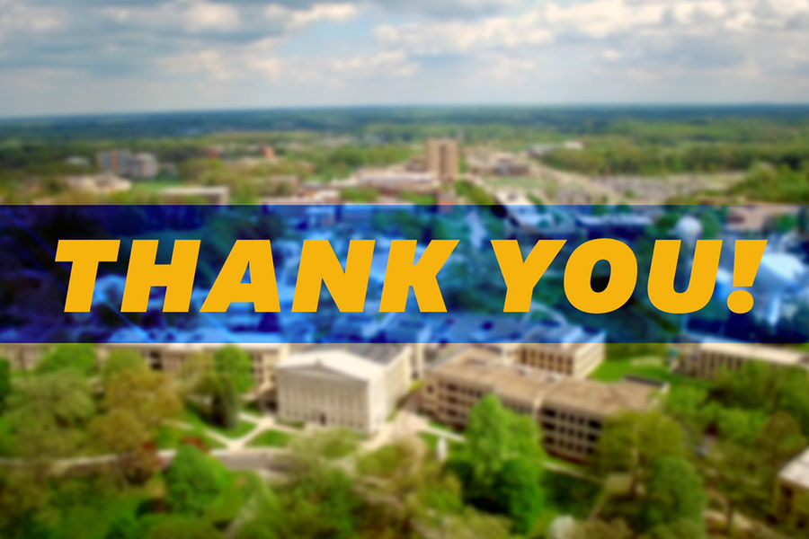 The Kent State family truly showed their blue and gold spirit by donating a record breaking $426,000 for Giving Tuesday.