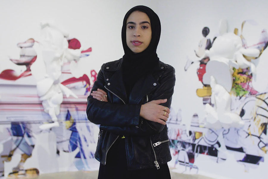 Majeda Alhinai, a visiting assistant professor in Kent State University's College of Architecture and Environmental Design, talks about the intersection of art and architecture.