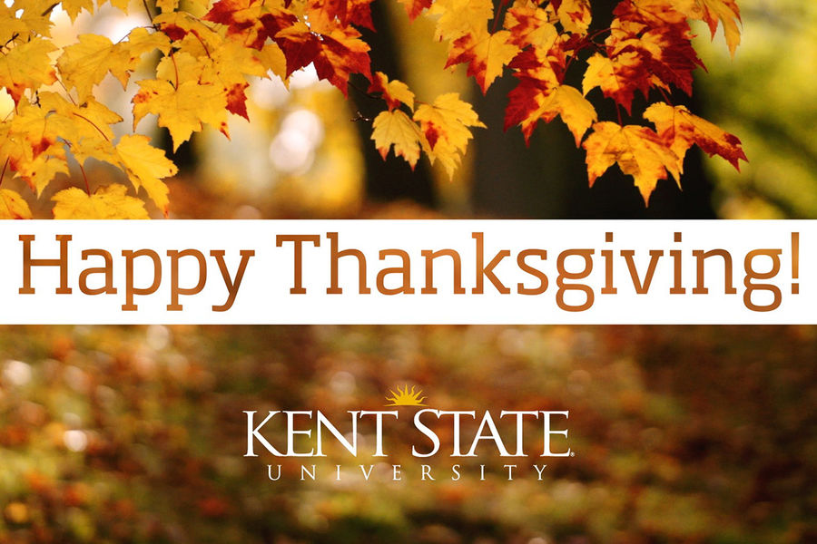 Kent State University President Beverly Warren expresses Thanksgiving wishes and gratitude to those who make the Kent State Promise a promise kept.