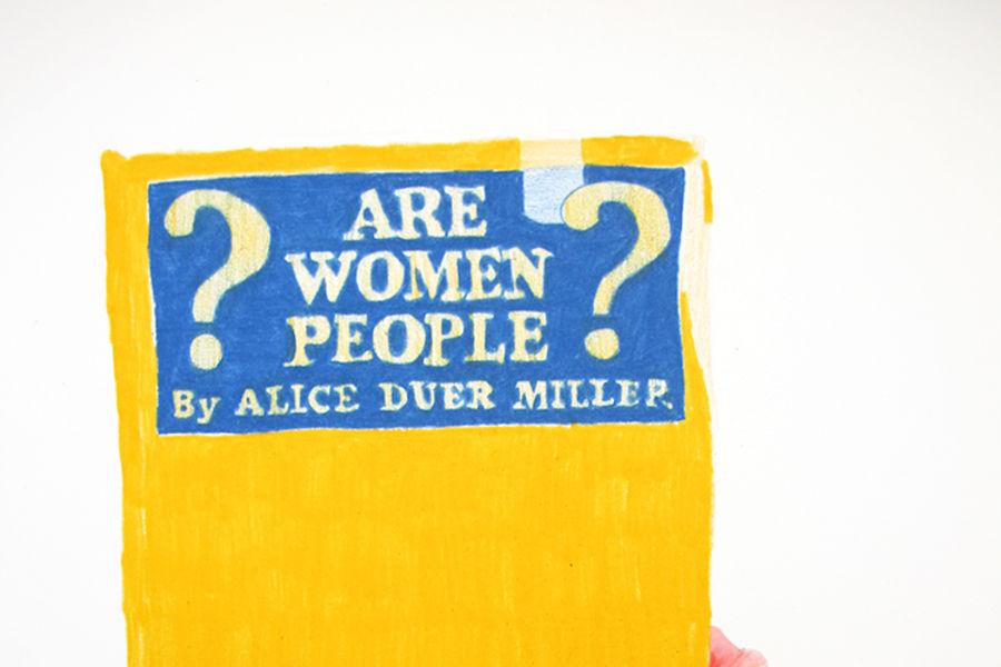 """Breanne Trammell, """"Art Women People??? (June 7, 2016)"""""""