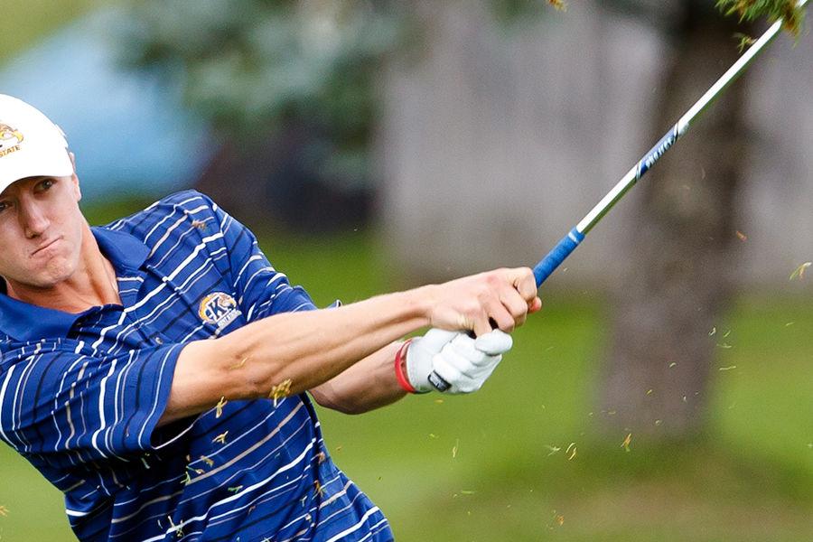 Kent State University alumnus and professional golfer Mackenzie Hughes is in Northeast Ohio to take part in the World Golf Championships-Bridgestone Invitational at Firestone County Club in Akron.
