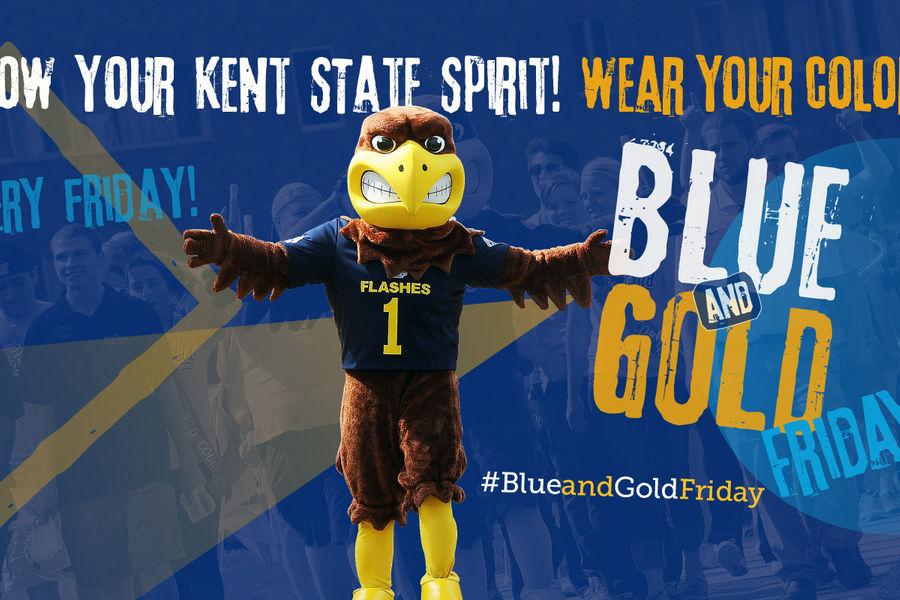 Show your Kent State Spirit!