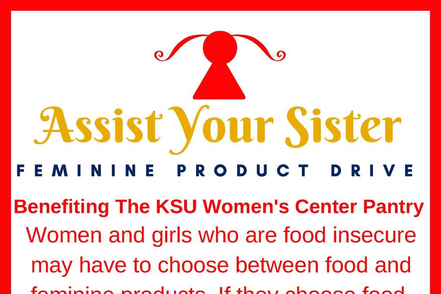 Course Project to Build Awareness, Gather Donations of Feminine Products for Kent State Women's Center