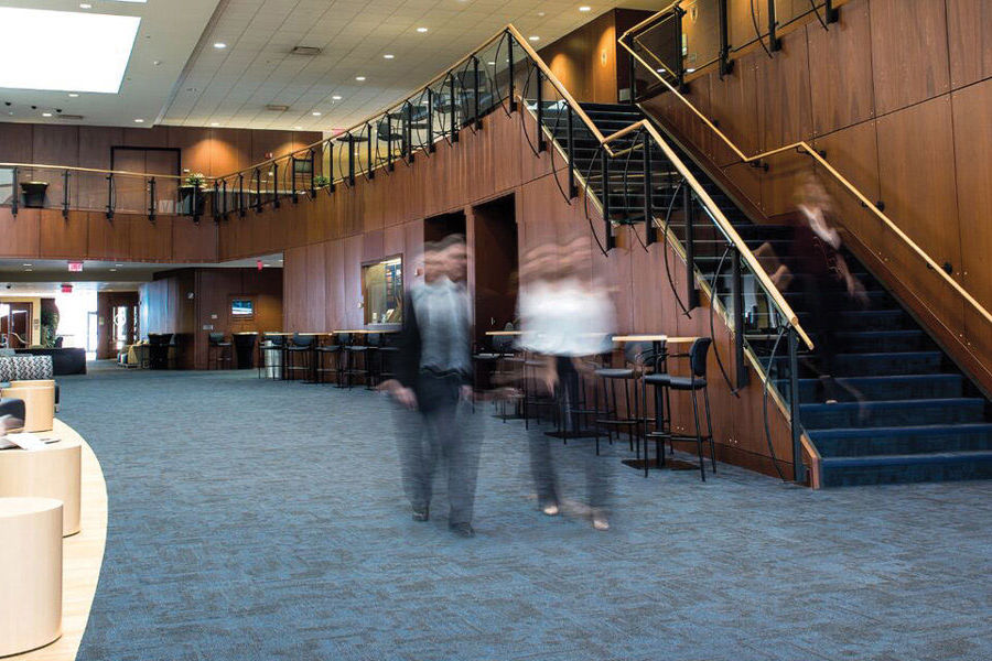 "Kent State University at Stark Conference Center renovations make the facility ""undeniably Kent State."""
