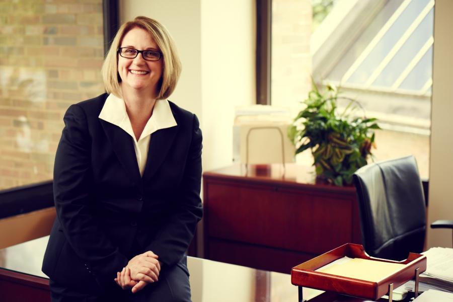Deborah F. Spake, dean of Kent State University's College of Business Administration