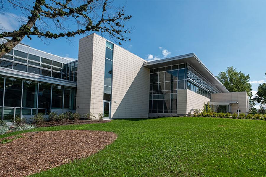 Photo of exterior of DI Hub