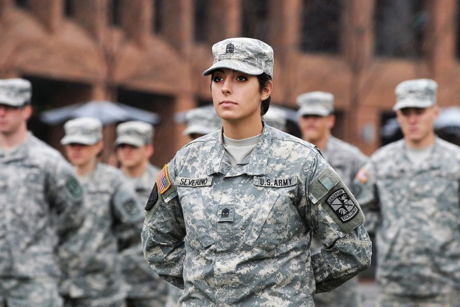 Kent State Students Serving in the Military