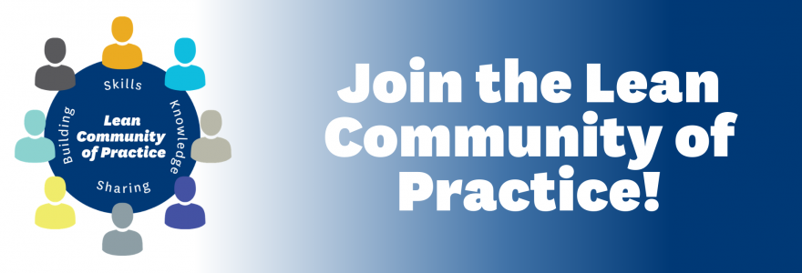 join the lean community of practice