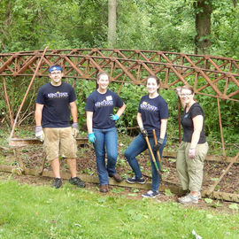 FYE Summer Service Projects at Stark Parks