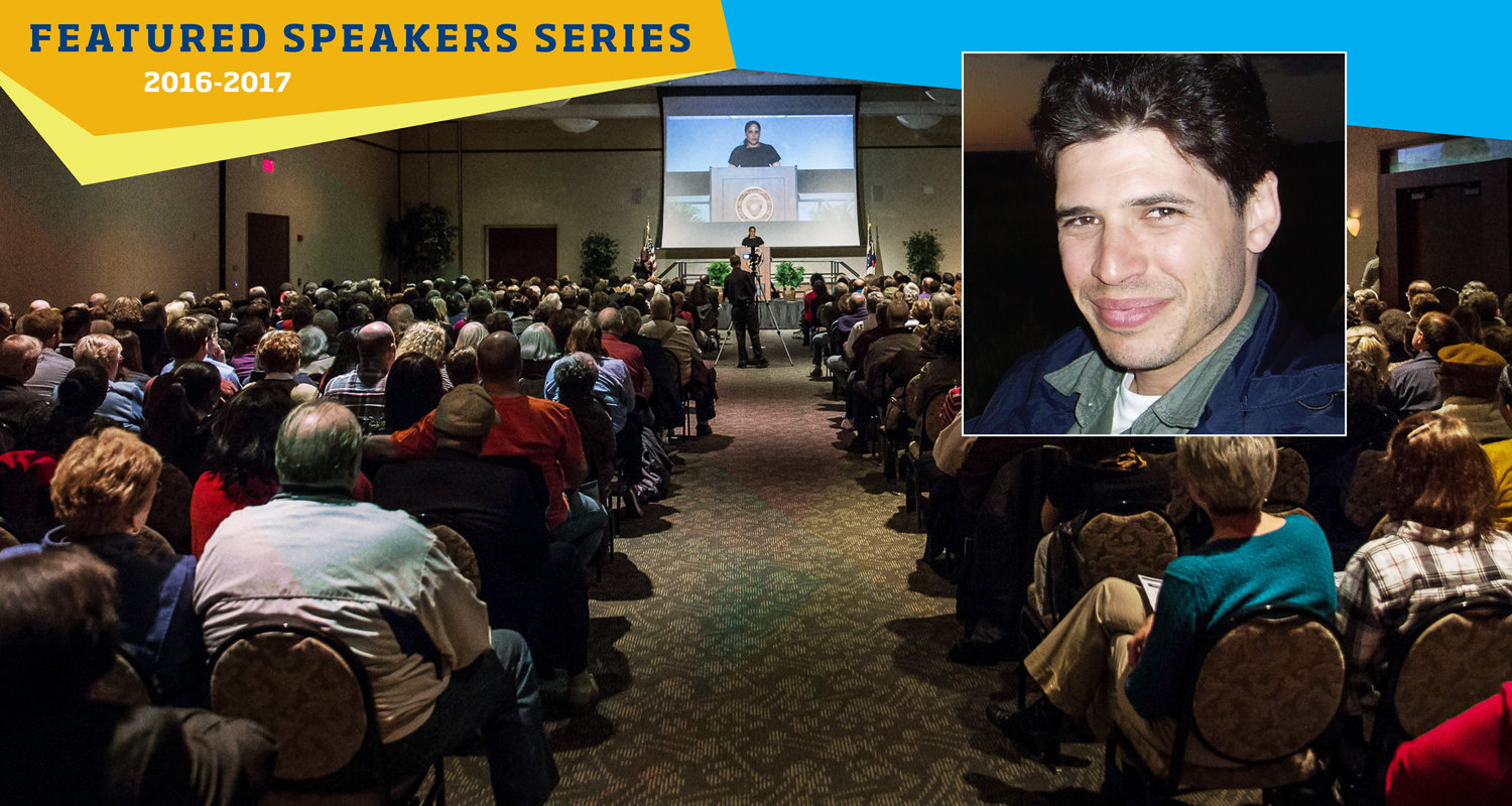 Tickets Available Monday, Sept. 26 for Featured Speaker Max Brooks
