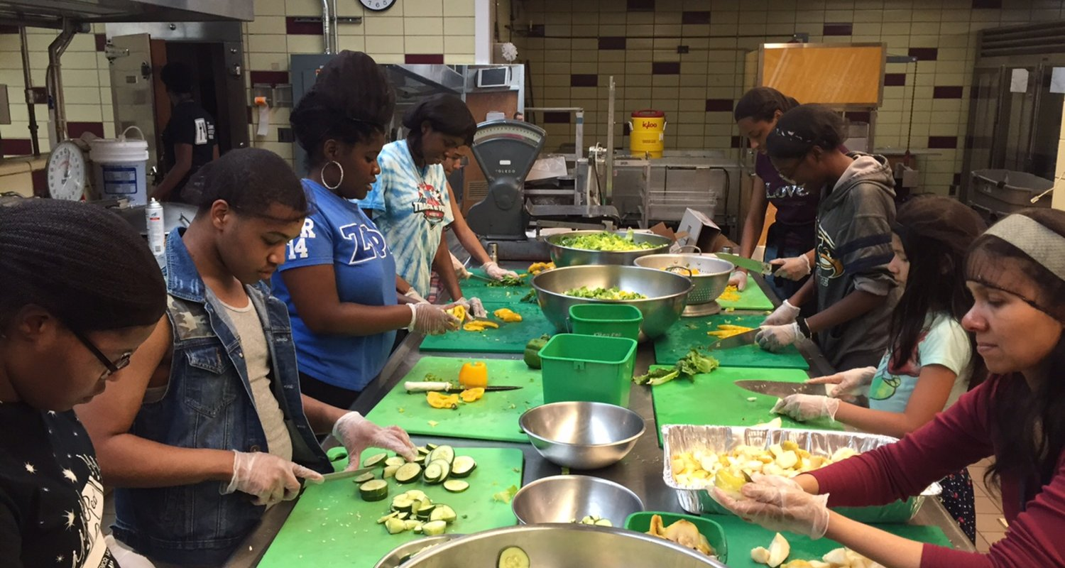 Campus Kitchens Volunteers