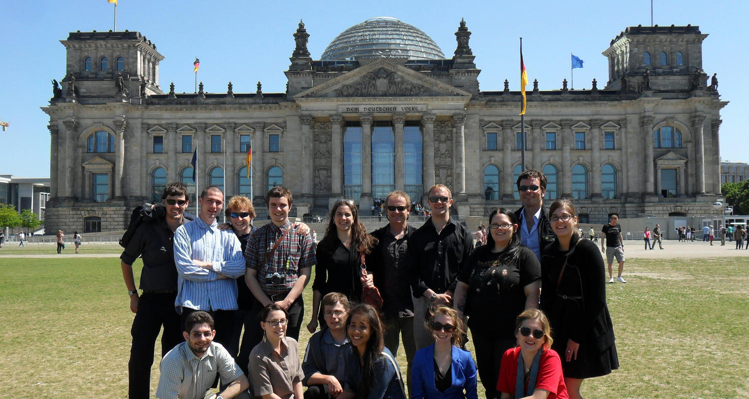 Department of History Study Abroad Group Photo