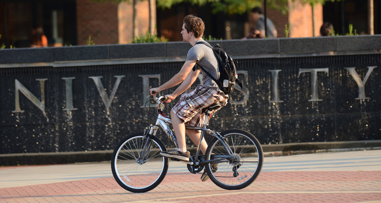 Kent State University was recognized as a Bicycle Friendly University by the League of American Bicyclists.