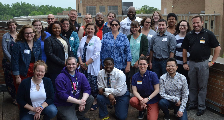 LGBTQ centers group photo