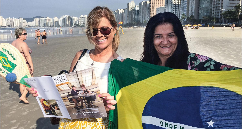 Kathleen Banas, Brazil: 5037 Miles