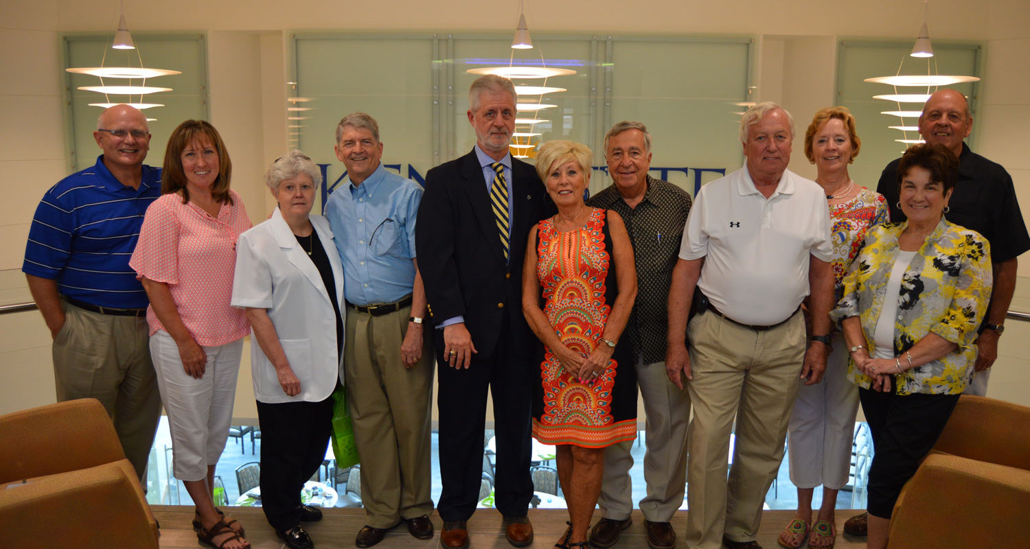 Advisory Board Members Meet on Kent Campus